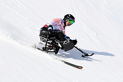 STEPHENS Laurie LW12-1 USA competing in the Para Alpine Skiing Downhill at the PyeongChang2018 Winter Paralympic Games, South Korea