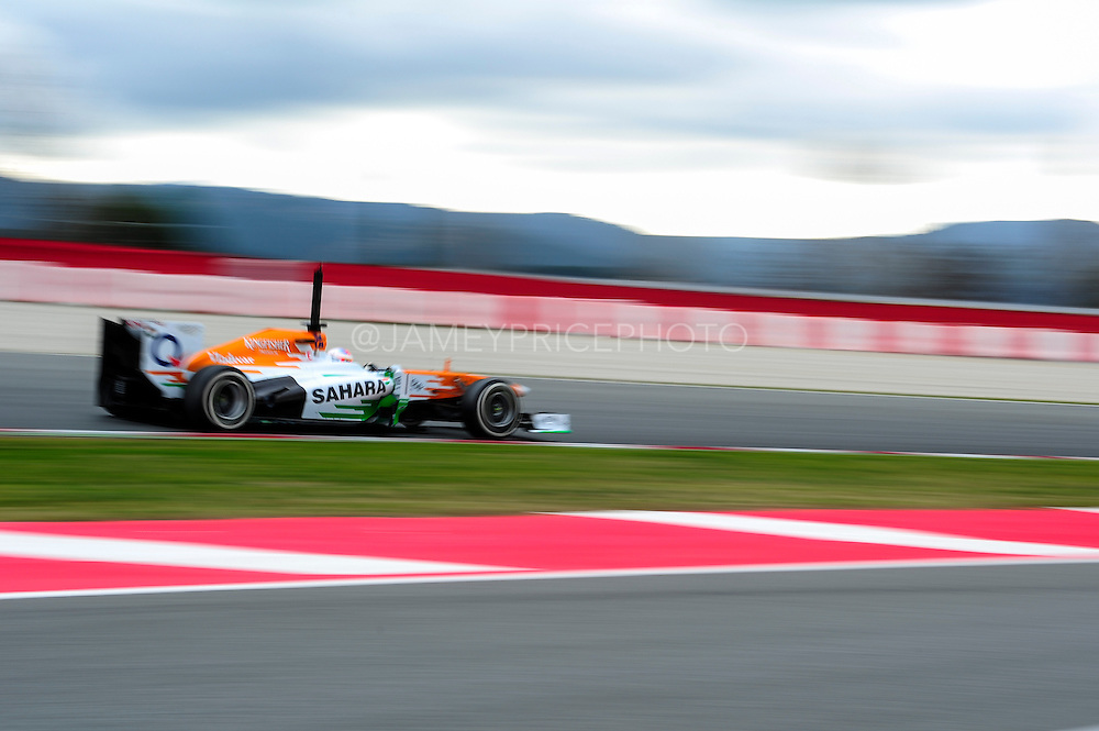 February 19, 2013 - Barcelona Spain. \f113\  during pre-season testing from Circuit de Catalunya.