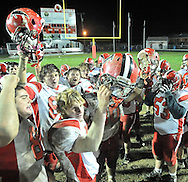 Firelands at Brookside varsity football on October 28, 2011.