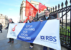 RBS branch closure demonstration | Edinburgh | 23 February 2018