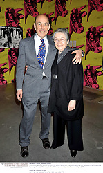 ANTHONY and ANNA d'OFFAY he is the winner of the 2009 Moncblanc award  at the Montblanc de la Culture Arts Patronage Award 2009 held at the Tate Modern, Bankside, London SE1 on 16th April 2009.