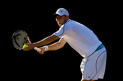 LONDON, ENGLAND - Friday, June 26, 2009: Dudi Sela (ISR) during the Gentlemen's Singles 3rd Round match on day five of the Wimbledon Lawn Tennis Championships at the All England Lawn Tennis and Croquet Club. (Pic by David Rawcliffe/Propaganda)