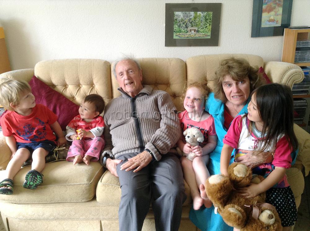 Bernard Gilhooly and Family. ROB GILHOOLY