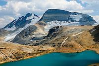 Kiwetinok Lake and the President Range, Yoho National Park British Columbia Canada