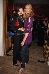 Left to right, JASMINE GUINNESS and JODIE KIDD at a party to celebrate the launch of a new fashion label 'Oli' at the Haymarket Hotel, 1 Suffolk Place, London on 4th July 2007.<br /><br />NON EXCLUSIVE - WORLD RIGHTS
