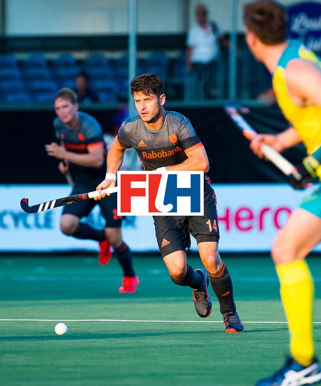 BREDA - Robbert Kemperman (Ned)     tijdens Nederland- Australie bij  de Hockey Champions Trophy. COPYRIGHT KOEN SUYK