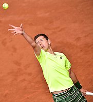 Corentin DENOLLY - 01.06.2015 - Jour 9 - Juniors -Roland Garros 2015<br />Photo : David Winter / Icon Sport
