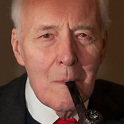 Veteran political activist, diarist and former Labour M.P. Tony Benn.
