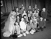 Belfast Children at Gaiety Pantomime.27/01/1972