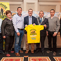 John Togher (\Pieta House), Brid Meaney, Iain Lynch, Kieran O'Brien (Pieta House) , Cllr Tony O'Brien (Deputy Mayor of Clare), John Cahill and Sophie Ryan<br /> The Kilrush Committee of the Darkness into Light walk in aid of Suicide by Pieta House
