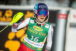 Chiara Mair (AUT) during second run at the Ladies' Slalom at 56th Golden Fox event at Audi FIS Ski World Cup 2019/20, on February 16, 2020 in Podkoren, Kranjska Gora, Slovenia. Photo by Matic Ritonja / Sportida