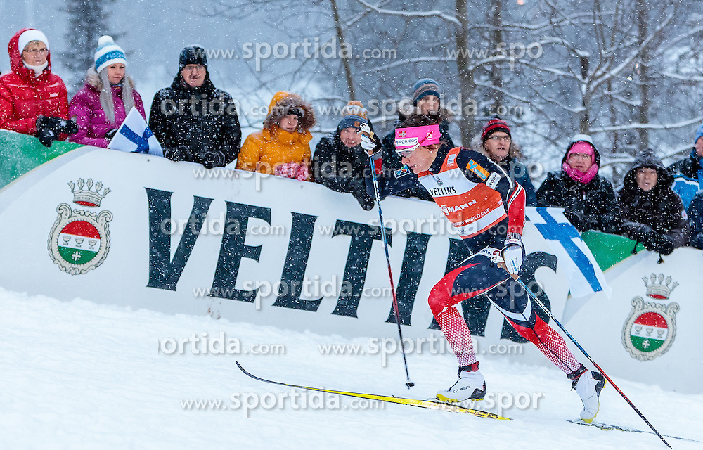 26.11.2016, Nordic Arena, Ruka, FIN, FIS Weltcup Langlauf, Nordic Opening, Kuusamo, Damen, im Bild Maiken Caspersen Falla (NOR) // Maiken Caspersen Falla of Norway during the Ladies FIS Cross Country World Cup of the Nordic Opening at the Nordic Arena in Ruka, Finland on 2016/11/26. EXPA Pictures © 2016, PhotoCredit: EXPA/ JFK