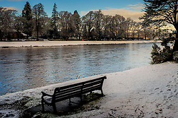The River Ness in Inverness, Scotland in winter<br /> <br /> (c) Andrew Wilson | Edinburgh Elite media