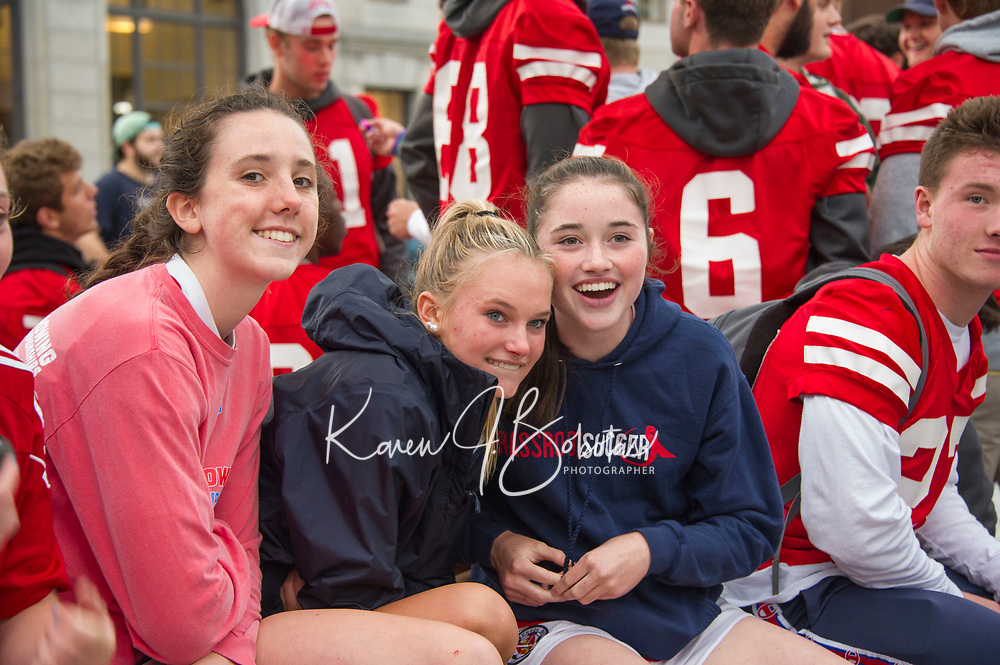 """St Paul's School at """"Walk a Mile in Her Shoes"""" event Concord, NH.    ©2019 Karen Bobotas Photographer"""