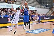 TRENTO, 25/07/2012<br /> TRENTINO BASKET CUP 2012<br /> ITALIA - FINLANDIA<br /> NELLA FOTO: DANIEL HACKETT<br /> FOTO CIAMILLO
