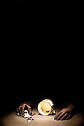 Belo Horizonte_MG, Brasil...Apresentacao de Teatral durante o FITO (Festival Internacional de Teatro de Objetos) na Serraia Souza Pinto. Na foto uma das apresentacoes do grupo paulista XPTO, Nao Fique Triste com Rafael Zardani. ..Theater presentation during FITO (Festival Internacional de Teatro de Objetos) in the Serraria Souza Pinto. In this photo the presentation of XPTO, Nao Fique Triste com Rafael Zardini..  .Foto: NIDIN SANCHES / NITRO