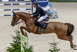 DEVOS Pieter (BEL), Just Me D<br /> Genf - CHI Geneve Rolex Grand Slam 2019<br /> Prix des Communes Genevoises<br /> 2-Phasen-Springen<br /> International Jumping Competition 1m50<br /> Two Phases: A + A, Both Phases Against the Clock<br /> 13. Dezember 2019<br /> © www.sportfotos-lafrentz.de/Stefan Lafrentz
