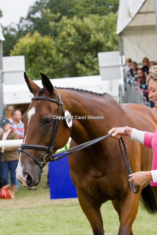 Mary King at Burghley Horse Trials 2009