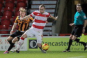 Luke McCulloch (Doncaster Rovers) during the Sky Bet League 1 match between Doncaster Rovers and Port Vale at the Keepmoat Stadium, Doncaster, England on 26 January 2016. Photo by Mark P Doherty.