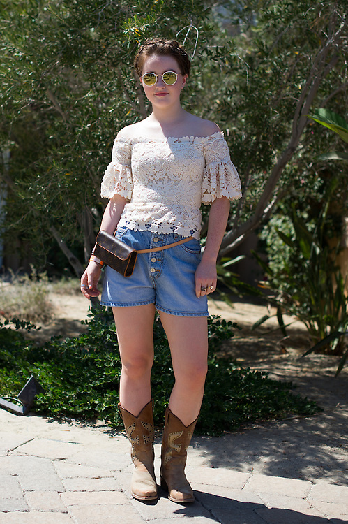 Kaitlyn Dever at the Nylon Coachella Party 2015