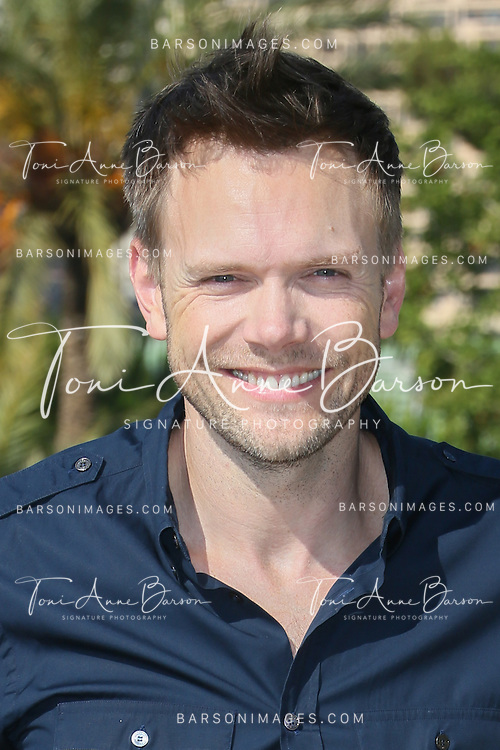 "MONTE-CARLO, MONACO - JUNE 09:  Joel McHale attends ""Community"" photocall at the Monte Carlo Beach Hotel on June 9, 2014 in Monte-Carlo, Monaco.  (Photo by Tony Barson/FilmMagic)"