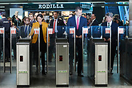 101718 King Felipe attends the 100th of the first Metro line in Madrid: L-1 Sol-Cuatro Caminos