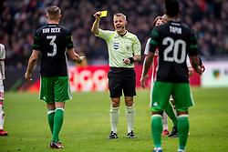 21-01-2018 NED: AFC Ajax - Feyenoord, Amsterdam<br /> Ajax was met 2-0 te sterk voor Feyenoord / Scheidsrechter Bjorn Kuipers