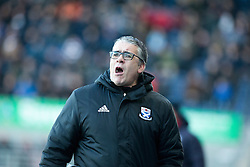 Ayr United's manager Ian McCall. Falkirk 1 v 1 Ayr United, Scottish Championship game played 14/1/2017at The Falkirk Stadium .
