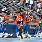 Ace 2017 Year In Review- UTEP's Tobi Amusan in the Women's 200 meter dash at the  2017 UTEP Invitational, Kidd Field El Paso, TX