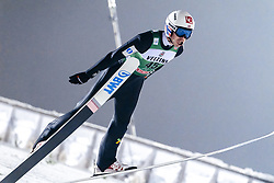 February 8, 2019 - Lahti, Finland - Andreas Stjernen competes during FIS Ski Jumping World Cup Large Hill Individual Qualification at Lahti Ski Games in Lahti, Finland on 8 February 2019. (Credit Image: © Antti Yrjonen/NurPhoto via ZUMA Press)