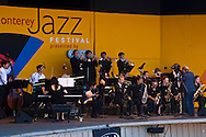 Performers at the 52nd Annual Monterey Jazz Festival, Monterey, California