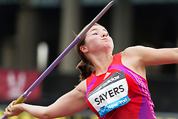 Samsung Diamond League adidas Grand Prix track & field; Goldie Sayers, GBR, Javelin