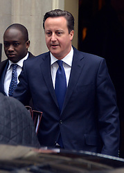 © Licensed to London News Pictures. 05/12/2012. Westminster, UK British Prime Minister David Cameron on Downing Street today, 5th December 2012, prior to the Autumn Statement to the House of Commons on the UK economy. Photo credit : Stephen Simpson/LNP