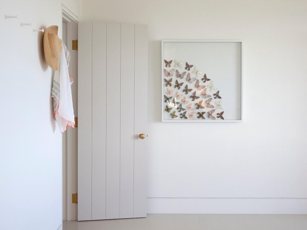Martha's Vineyard house. Master bedroom. Architect: Claudia Noury-Ello. Designer: Christine Lane Interiors