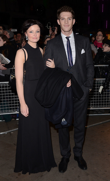 Rachel Forde and Alistair Brammer attend The 10th What's On Stage Awards at The Prince Of Wales Theatre, London on Sunday 15  February 2015