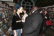 Lady Eloise Anson and Ade, Book launch of Pretty Things by Liz Goldwyn at Daunt <br />Books, Marylebone High Street. London 30 November 2006.   ONE TIME USE ONLY - DO NOT ARCHIVE  © Copyright Photograph by Dafydd Jones 248 CLAPHAM PARK RD. LONDON SW90PZ.  Tel 020 7733 0108 www.dafjones.com