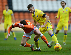 Ollie Clarke of Bristol Rovers battles for the ball with Jordan Thompson of Blackpool  - Mandatory by-line: Alex James/JMP - 03/11/2018 - FOOTBALL - Bloomfield Road - Blackpool, England - Blackpool v Bristol Rovers - Sky Bet League One