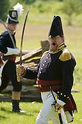 The Battle of Crysler's Farm  U.S. Commander Tom Hurlbutt makes himself heard over noise of battle  The Battle of Crysler's Farm.