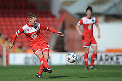 Bristol Academy's Loren Dykes - Photo mandatory by-line: Dougie Allward/JMP - Mobile: 07966 386802 - 21/03/2015 - SPORT - Football - Bristol - Ashton Gate Stadium - Bristol Academy v FFC Frankfurt - UEFA Women's Champions League - Quarter Final - First Leg