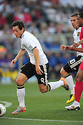 Mesut Ozil in action during the 2010 World Cup Soccer match between England and Germany in a group 16 match played at the Freestate Stadium in Bloemfontein South Africa on 27 June 2010.