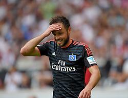Football: Germany, 1. Bundesliga, VFB STUTTGART - HAMBURGER SV (HSV), Stuttgart - 16.05.2015,<br /> Heiko Westermann (Hamburg) dejected<br /> <br /> © pixathlon<br /> <br /> +++ NED out !!! +++