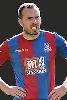 """Crystal Palace's Jordan Mutch during the Barclays Premier League match at Carrow Road, Norwich. PRESS ASSOCIATION Photo. Picture date: Saturday August 8, 2015. See PA story SOCCER Norwich. Photo credit should read: Adam Davy/PA Wire. EDITORIAL USE ONLY No use with unauthorised audio, video, data, fixture lists, club/league logos or """"live"""" services. Online in-match use limited to 45 images, no video emulation. No use in betting, games or single club/league/player publications."""