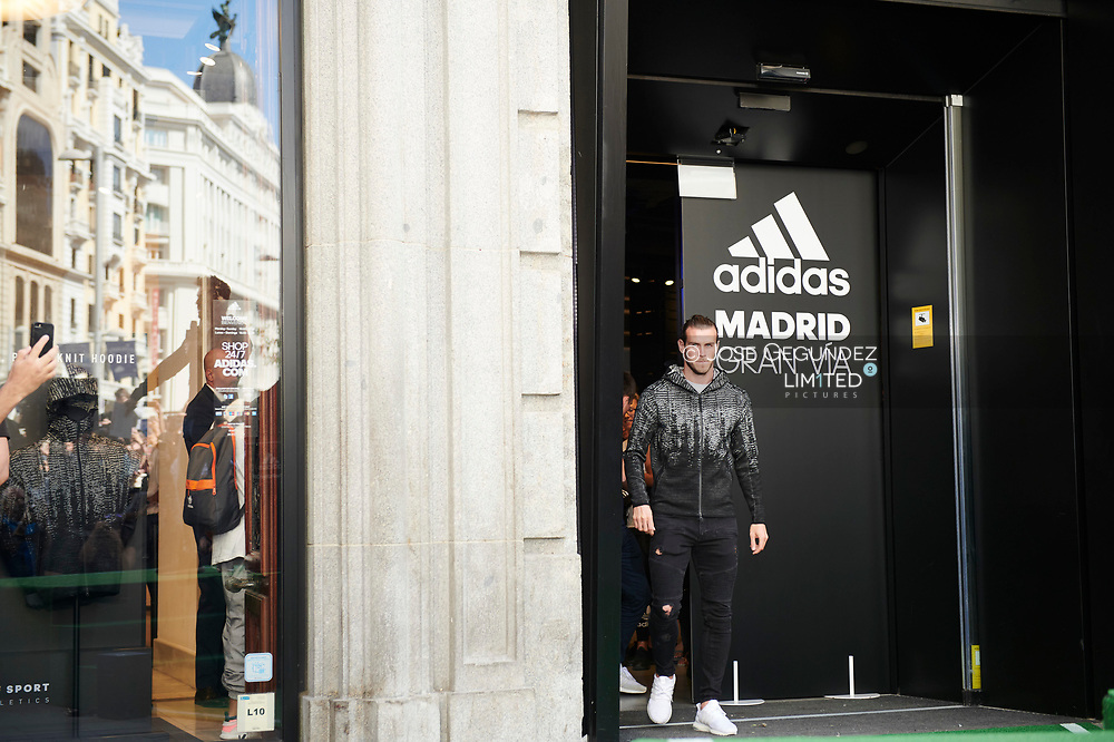 Gareth Bale attended the presentation of Z.N.E. Pulse Collection by Adidas at Adidas Store on September 15, 2017 in Madrid