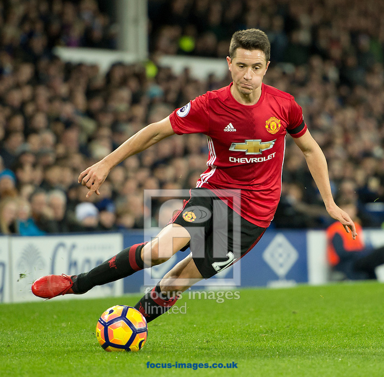 Ander Herrera of Manchester United during the Premier League match at Goodison Park, Liverpool<br /> Picture by Russell Hart/Focus Images Ltd 07791 688 420<br /> 04/12/2016