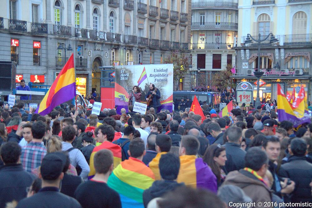 Puerta del Sol student protests