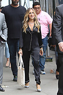 Sarah Jessica Parker takes part in a film shoot - 5 June 2018