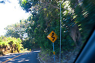 Maui, Hawaii. Driving the Road to Hana.