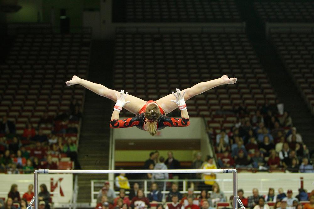 2011 Arkansas Razorback Gymnastics team vs AlabamaUniversity of Arkansas Razorback 2010-2011 Women's Gymnastics Team action photos<br /> <br /> <br /> <br /> &copy;Wesley Hitt<br /> All Rights Reserved<br /> 501-258-0920