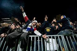 during football match between FC Luka Koper and NK Olimpija of PrvaLiga, first game after rebuilding the Bonifika football stadium, on October 30, 2010 in Koper - Capodistria, Slovenia. Koper defeated Olimpija 2 - 0. (Photo By Vid Ponikvar / Sportida.com)