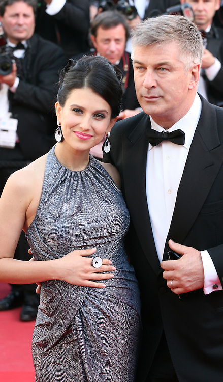 Hilaria Thomas and Alec Baldwin at the Blood Ties film gala screening at the Cannes Film Festival Monday 20th May 2013